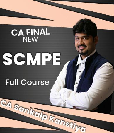 Video Lectures CA Final SCMPE (Costing) Full Course (2020 Batch) New Syllabus By CA Sankalp Kanstiya Applicable for November 2021 Exams