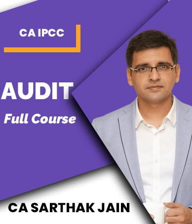 Video Lecture CA IPCC Auditing and Assurance By CA Sarthak Jain