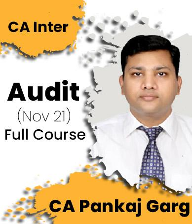 Video Lecture CA Inter Audit Regular New Syllabus By CA Pankaj Garg