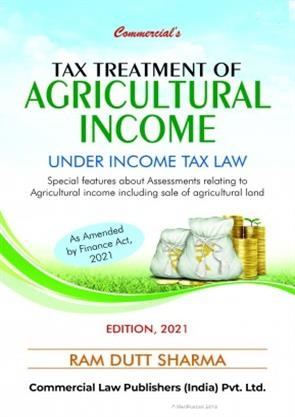 Commercial Tax Treatment Of Agricultural By Ram Dutt Sharma