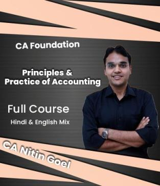 Video Lectures CA Foundation Accounting By CA Nitin Goel