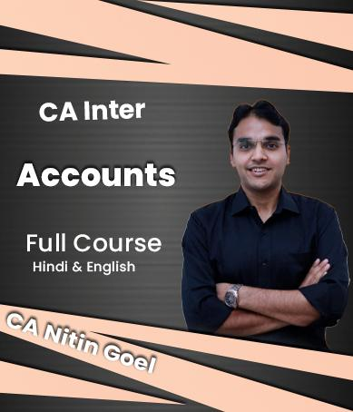 Video Lectures CA Inter Accounts New Syllabus Full Course By CA Nitin Goel