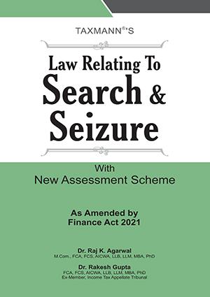 Taxmann Search & Seizure By Raj K. Agarwal Rakesh Gupta
