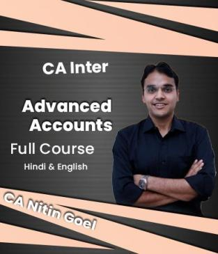 Video Lectures CA Inter Advanced Accounts By CA Nitin Goel