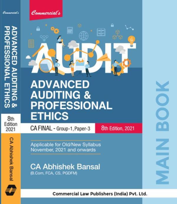 Advanced Auditing Professional Ethics Abhishek Bansal November 2021