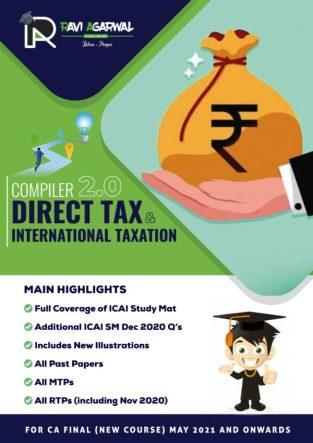 CA Final Direct Tax Compiler 2.0 PDF New Syllabus By CA Ravi Agarwal