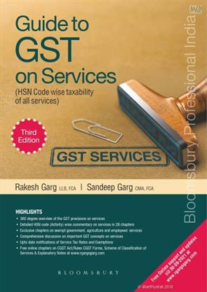 Bloomsbury Guide to GST on Services By Rakesh Garg