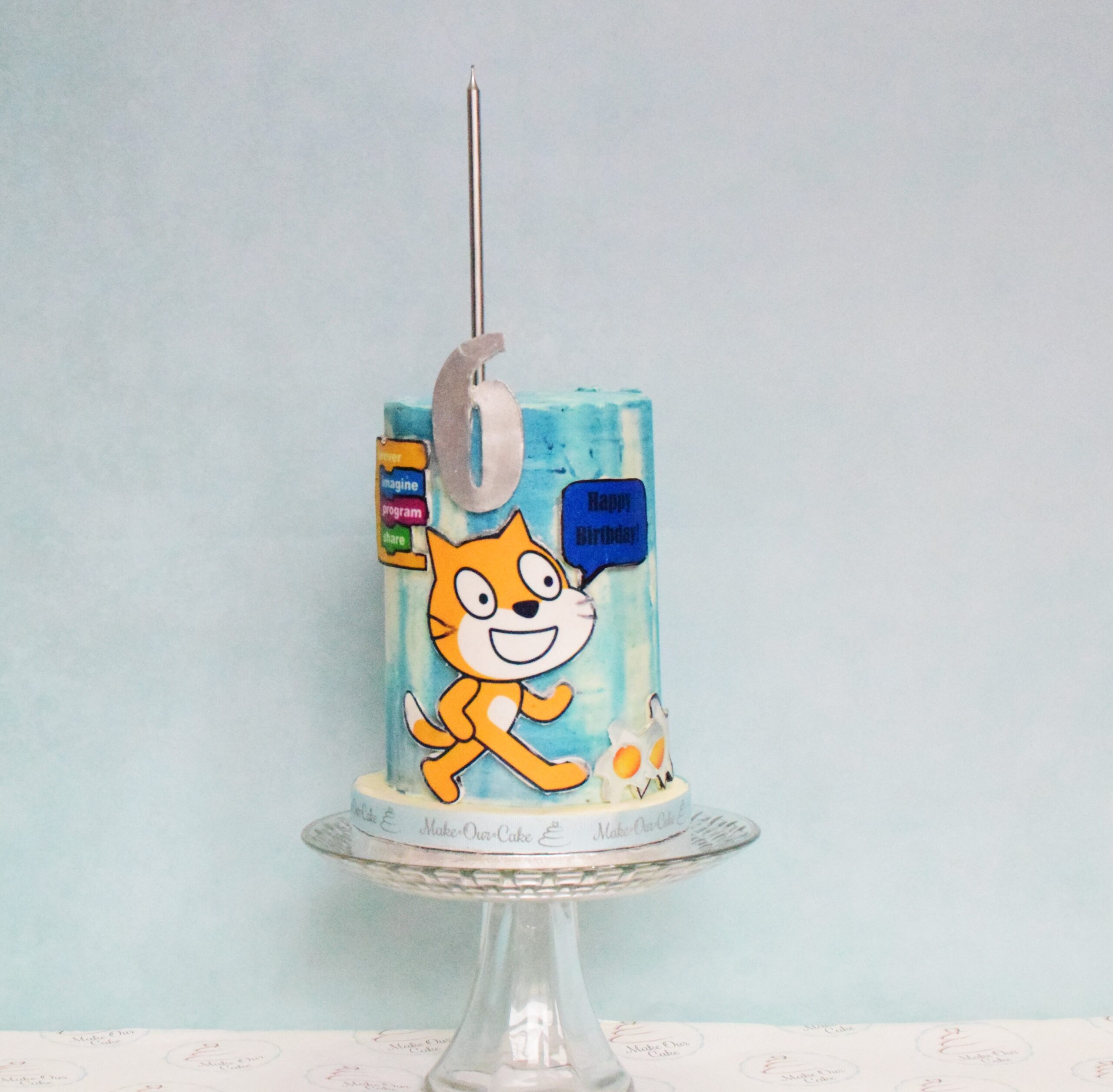 Scratch Birthday Cake