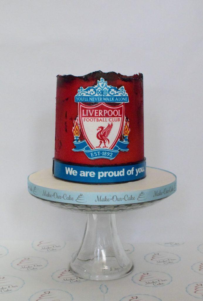 Liverpool Birthday Cake 1