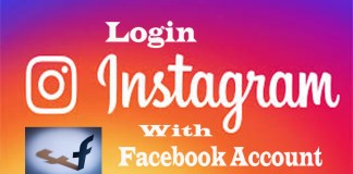 How to Login to Instagram with your Facebook Account