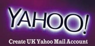 Create UK Yahoo Mail Account