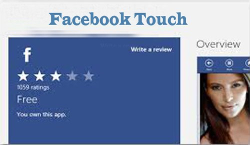 How to Use Facebook Touch
