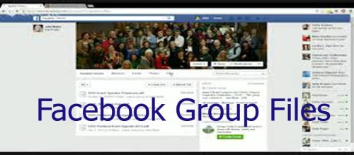 Facebook Group Files - How to Download Facebook Group Files