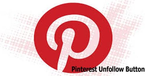 Pinterest Unfollow Button