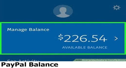 PayPal Balance - How to View Your PayPal Balance