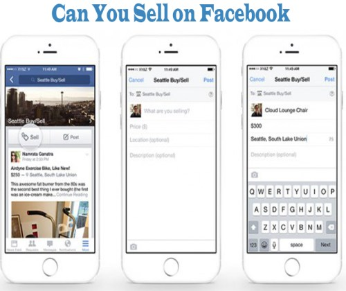 How Can You Sell on Facebook Groups, Pages & Timeline