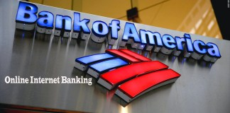 Bank of America Online Internet Banking