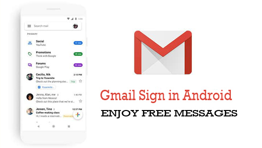 Gmail Sign in Android