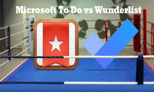 Microsoft To Do vs Wunderlist