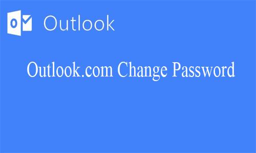 Outlook.com Change Password