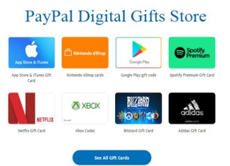 PayPal Digital Gifts Store