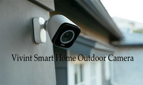 Vivint Smart Home Outdoor Camera