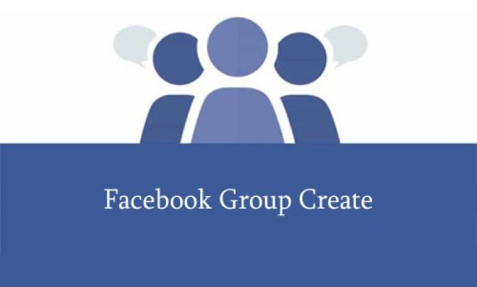 Facebook Group Create