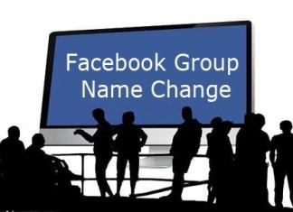 Facebook Group Name Change