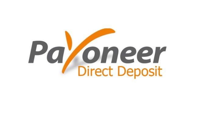Payoneer Direct Deposit