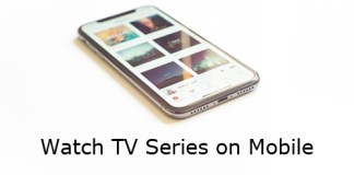 Watch TV Series on Mobile