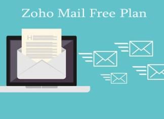 Zoho Mail Free Plan