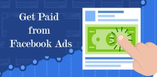 Get Paid from Facebook Ads