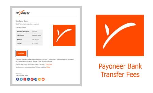 Payoneer Bank Transfer Fees