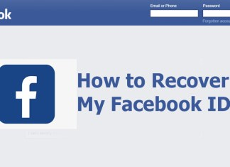 How to Recover My Facebook ID