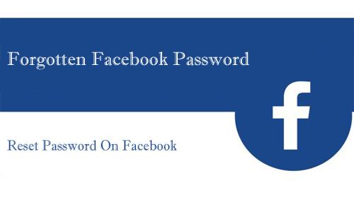 Forgotten Facebook Password