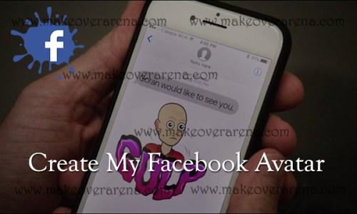 Create My Facebook Avatar