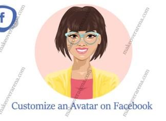 Customize an Avatar on Facebook
