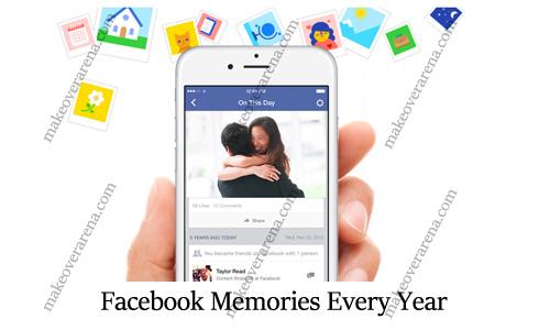Facebook Memories Every Year