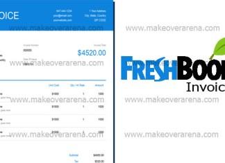 Freshbooks Invoice