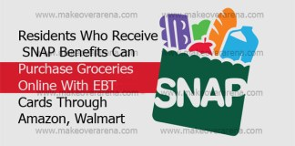 Residents Who Receive SNAP Benefits Can Purchase Groceries Online With EBT Cards Through Amazon, Walmart