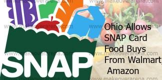 Ohio Allows SNAP Card Food Buys From Walmart, Amazon