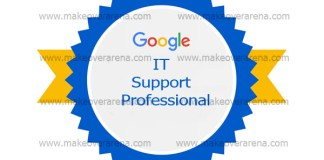 Google IT Support Professional