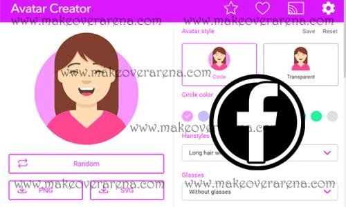 Facebook Avatar Character Creator
