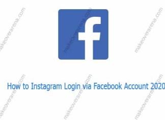 How to Instagram Login via Facebook Account 2020
