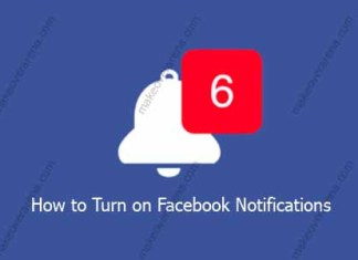 How to Turn on Facebook Notifications