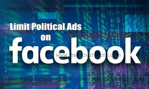Limit Political Ads on Facebook