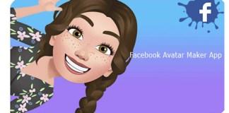 Facebook Avatar Maker App