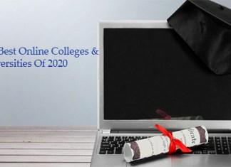 The Best Online Colleges & Universities Of 2020