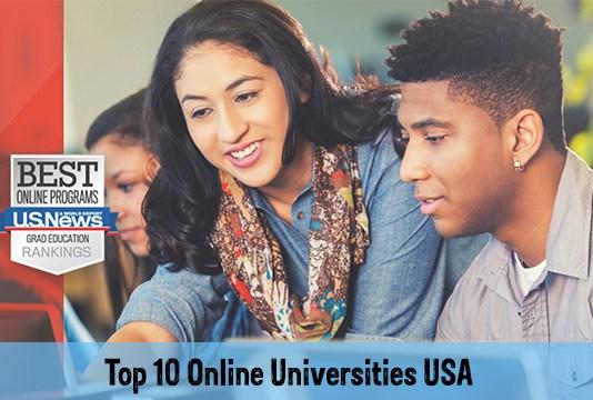 Top 10 Online Universities USA
