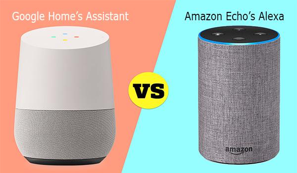 Google Home's Assistant vs Amazon Echo's Alexa